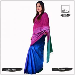 Handloom Cotton Saree 7265