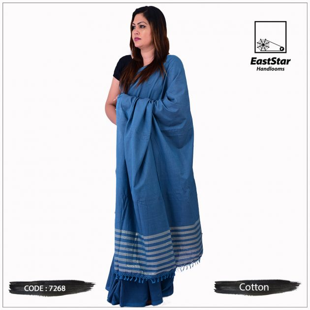 Handloom Cotton Saree 7268