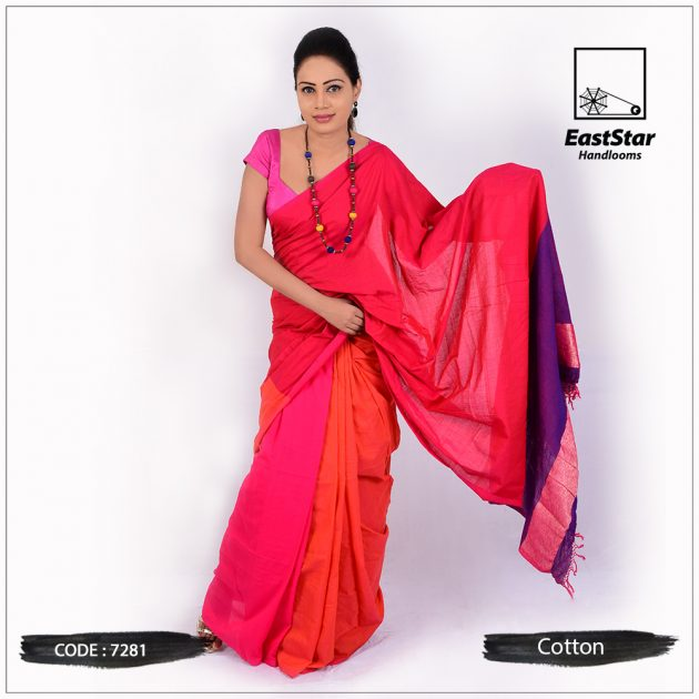 Handloom Cotton Saree 7281