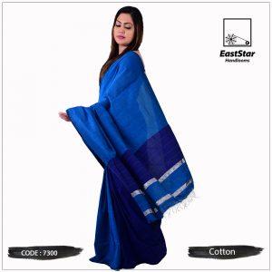 Handloom Cotton Saree 7300