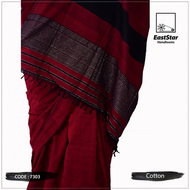 Handloom Cotton Saree 7303