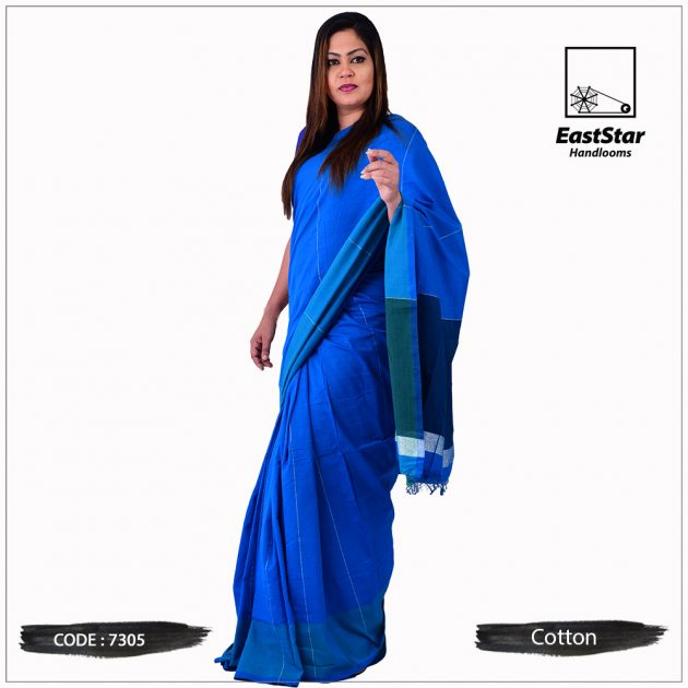 Handloom Cotton Saree 7305