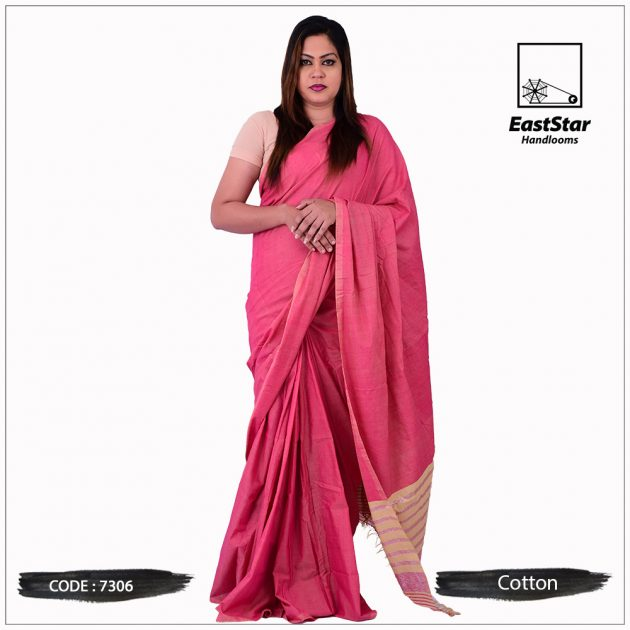 Handloom Cotton Saree 7306