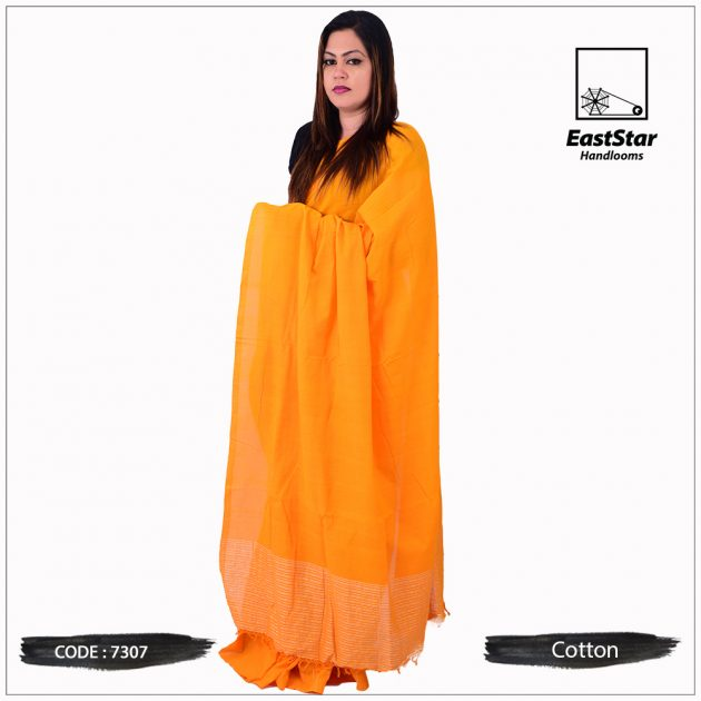 Handloom Cotton Saree 7307