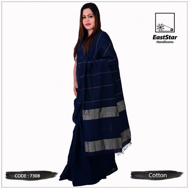 Handloom Cotton Saree 7308