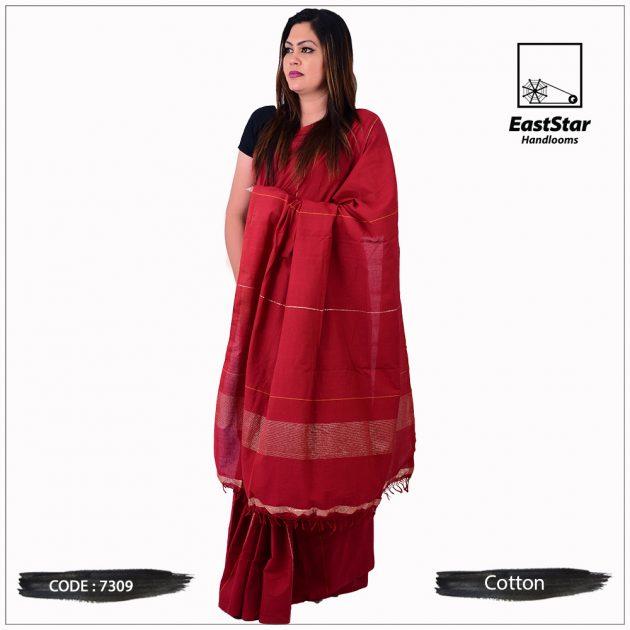 Handloom Cotton Saree 7309