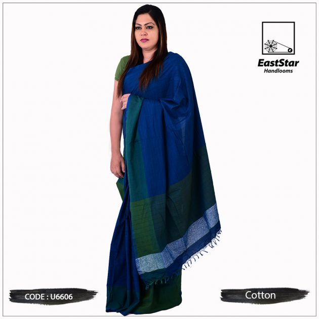Handloom Cotton Saree u6606