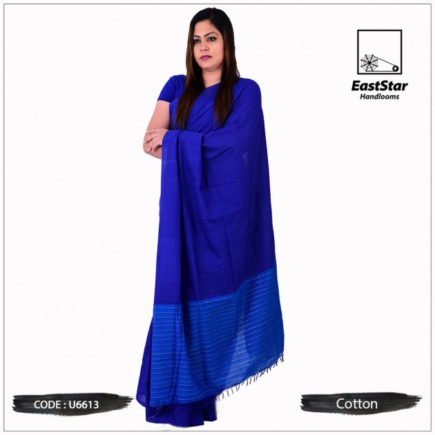 Handloom Cotton Saree U6613