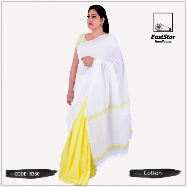 Handloom Cotton Saree 6360