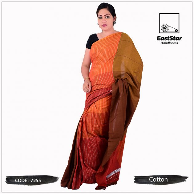 Handloom Cotton Saree 7255