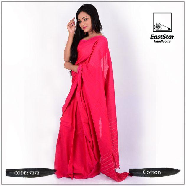 Handloom Cotton Saree 7272