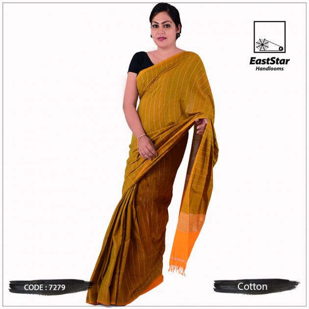 Handloom Cotton Saree 7279