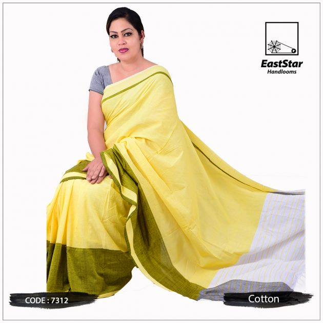 Handloom Cotton Saree 7312