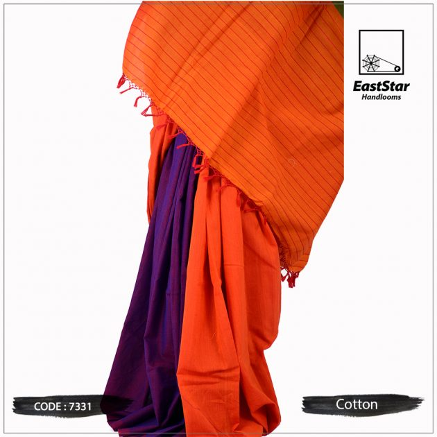 Handloom Cotton Saree 7331