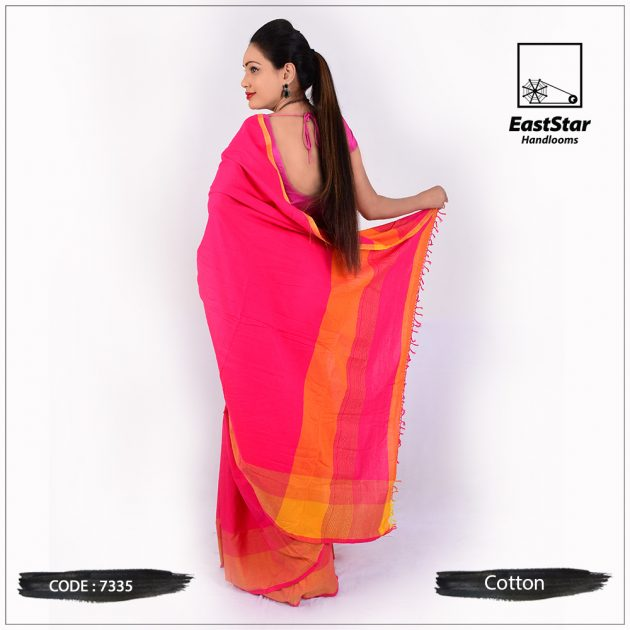Handloom Cotton Saree 7335