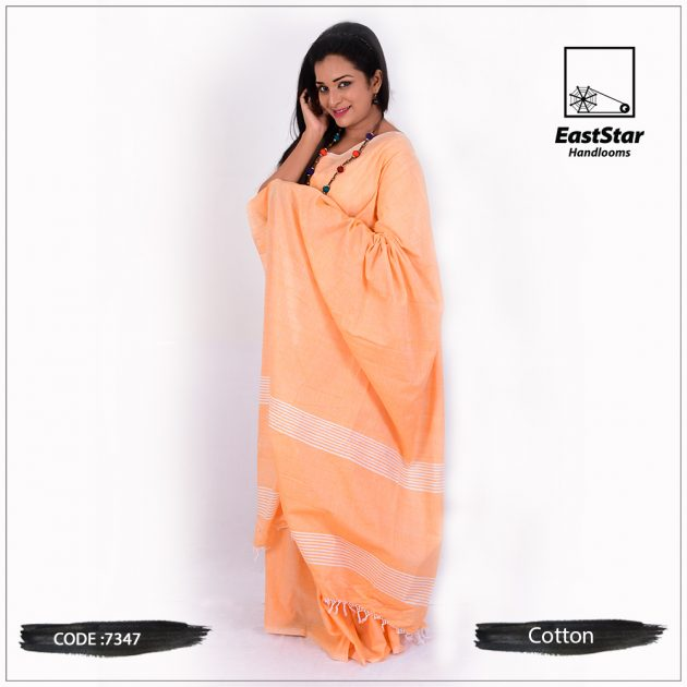 handloom cotton saree 7347