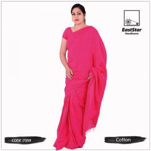 Handloom Cotton Saree 7359