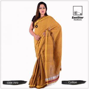 Handloom Cotton Saree 7372