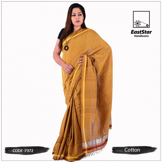 Handloom Cotton Saree 7372