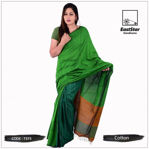 Handloom Cotton Saree 7375