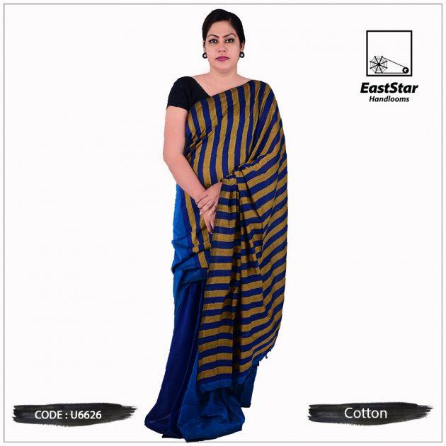 Handloom Cotton Saree U6626