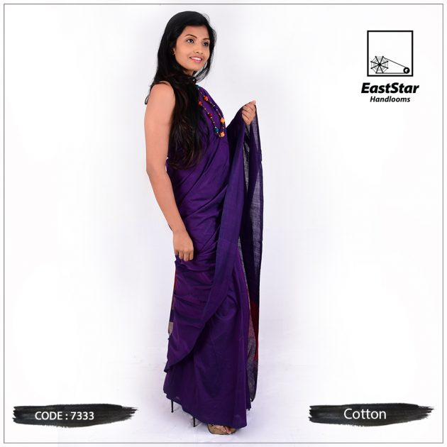 Handloom Cotton Saree 7333