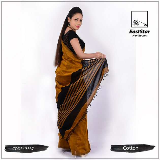 Handloom Cotton Saree 7337