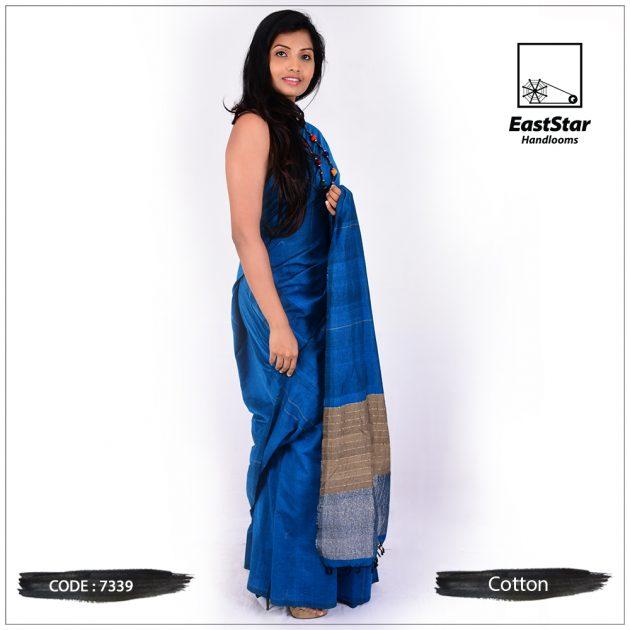 Handloom Cotton Saree 7339