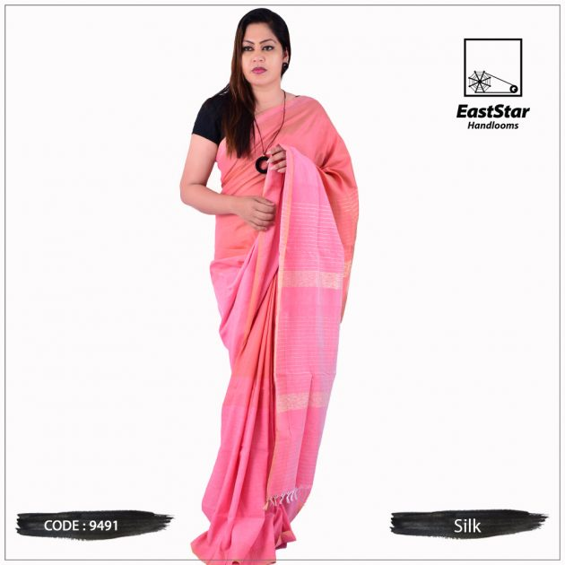 Handloom Silk Saree 9491