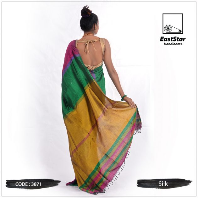 Handloom Silk Saree 3871