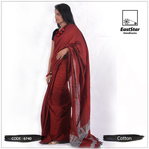 Handloom Cotton Saree 6740