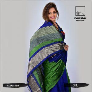 Handloom Silk Saree 3878