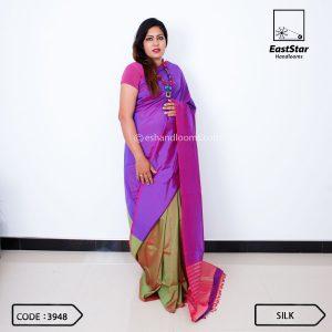 Handloom Silk Saree 3948