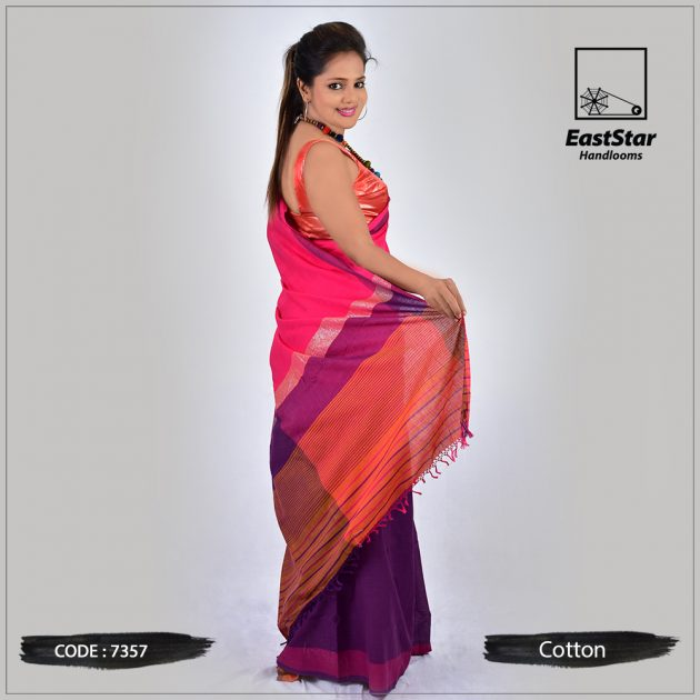 Handloom Cotton Saree 7357