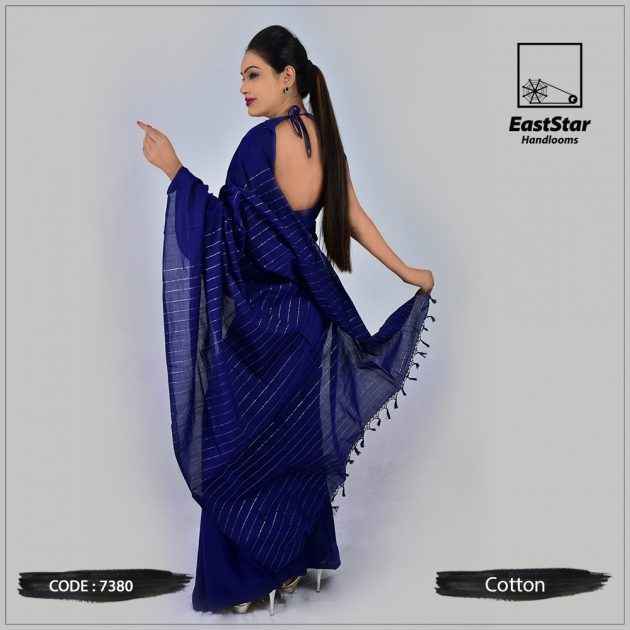 Handloom Cotton Saree 7380