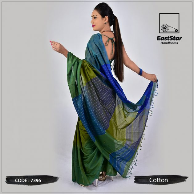 Handloom Cotton Saree 7396