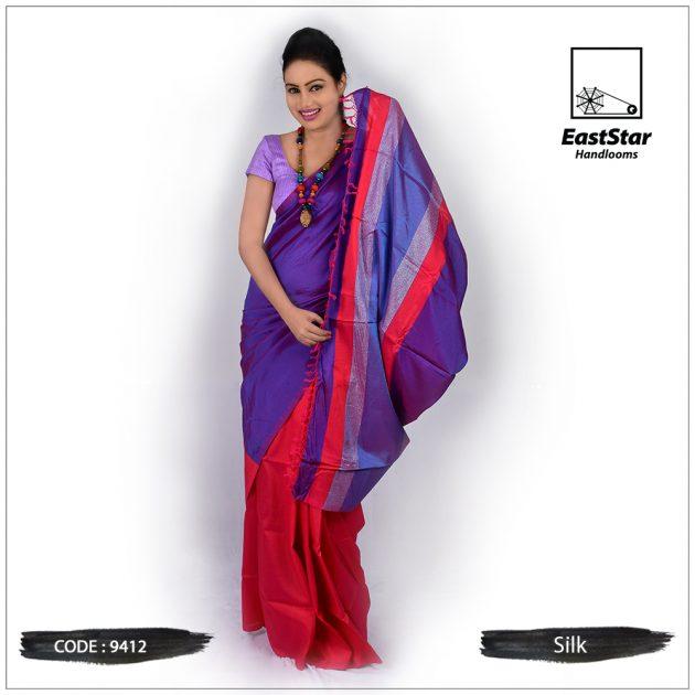 Handloom Silk Saree 9412
