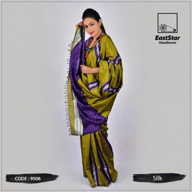 Handloom Silk Saree 9506