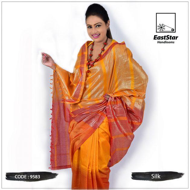 Handloom Silk Saree 9583