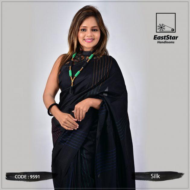 Handloom Silk Saree 9591