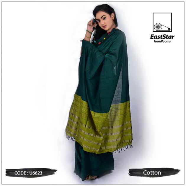 Handloom Cotton Saree U6623