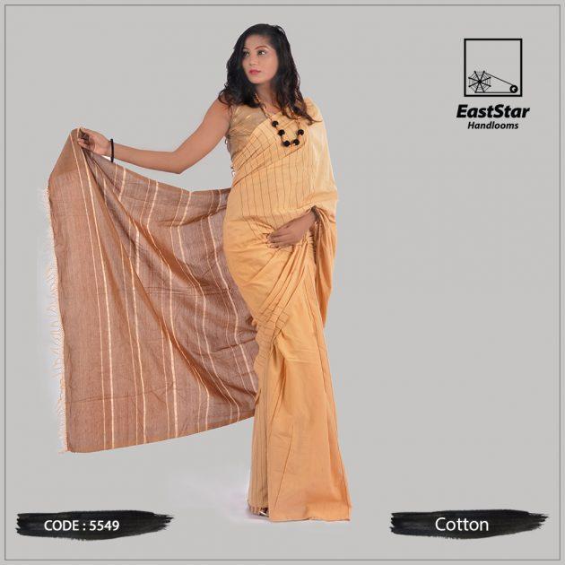 Handloom Cotton Saree 5549