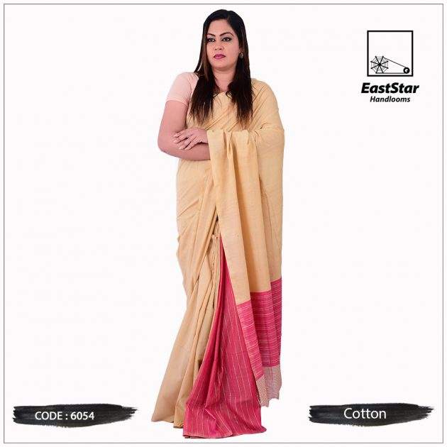 Handloom Cotton Saree 6054