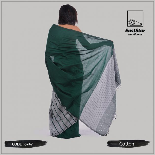 Handloom Cotton Saree 6747