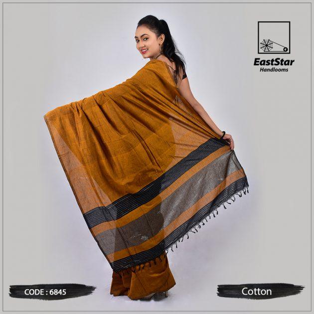 Handloom Cotton Saree 6845