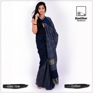 Handloom Cotton Saree 7338