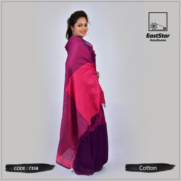 Handloom Cotton Saree 7358