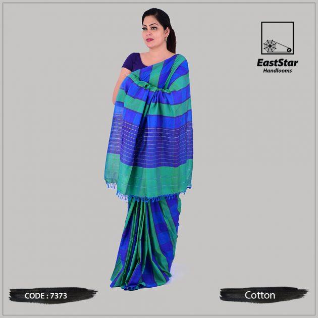 Handloom Cotton Saree 7373