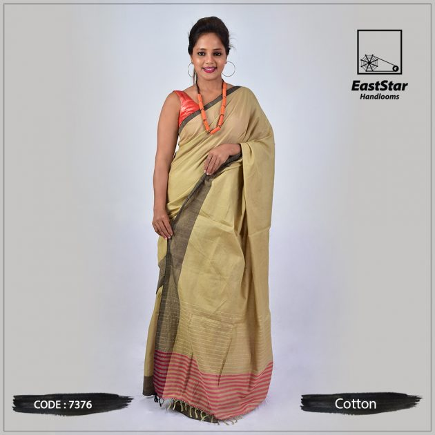 Handloom Cotton Saree 7376