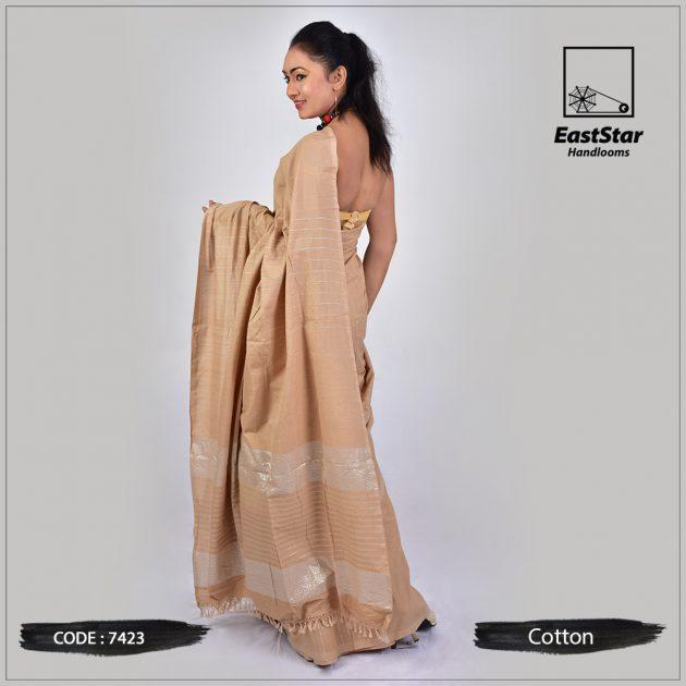 Handloom Cotton Saree 7423
